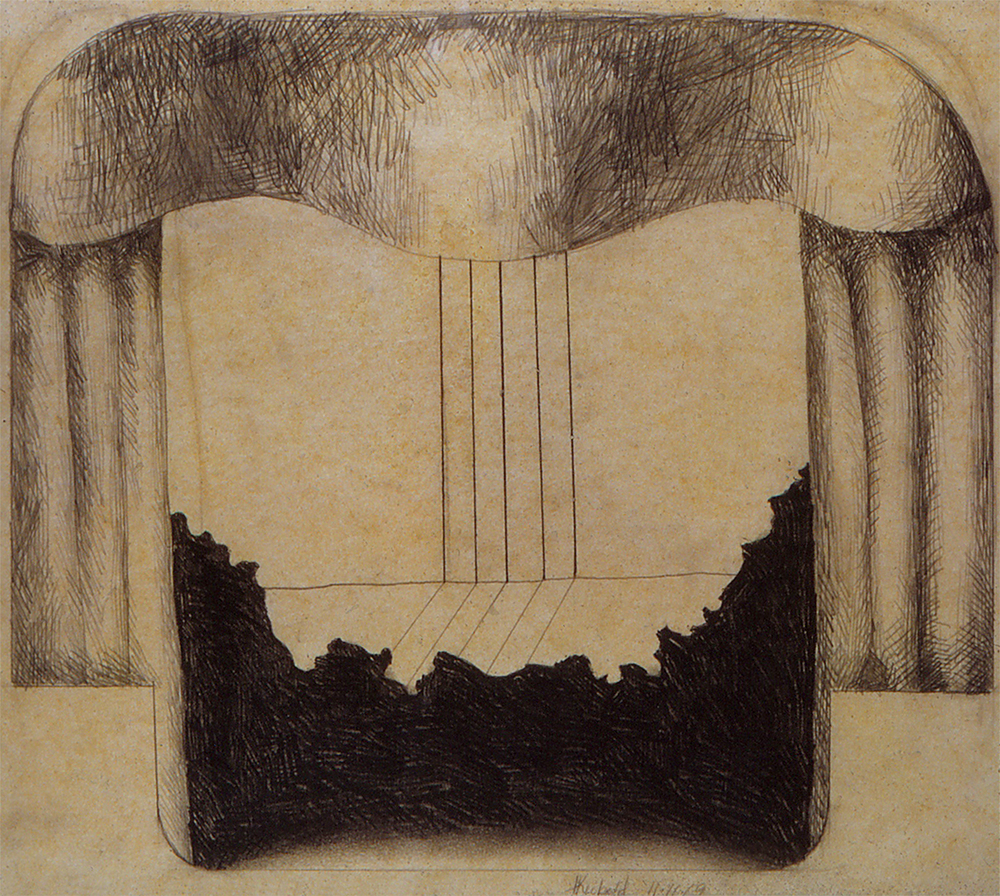 Untitled, 1969  raphite on paper