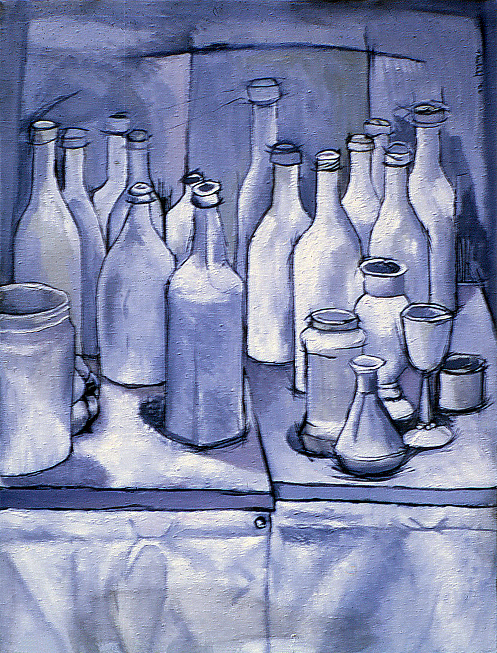 Still Life, 1966  Oil on canvas