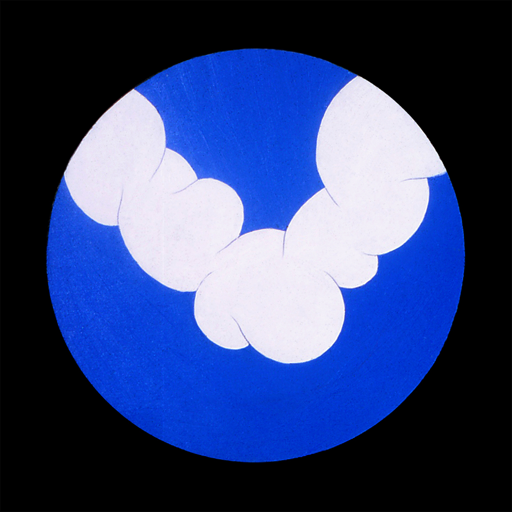 Cloud Form 2, 1968  Acrylic on wood
