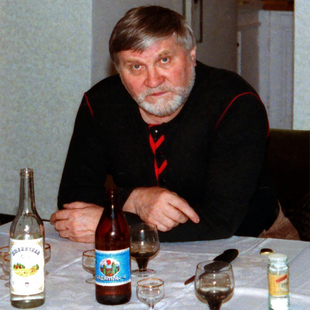 """Peter Ossovsky, 1990  24"""" x 24"""""""
