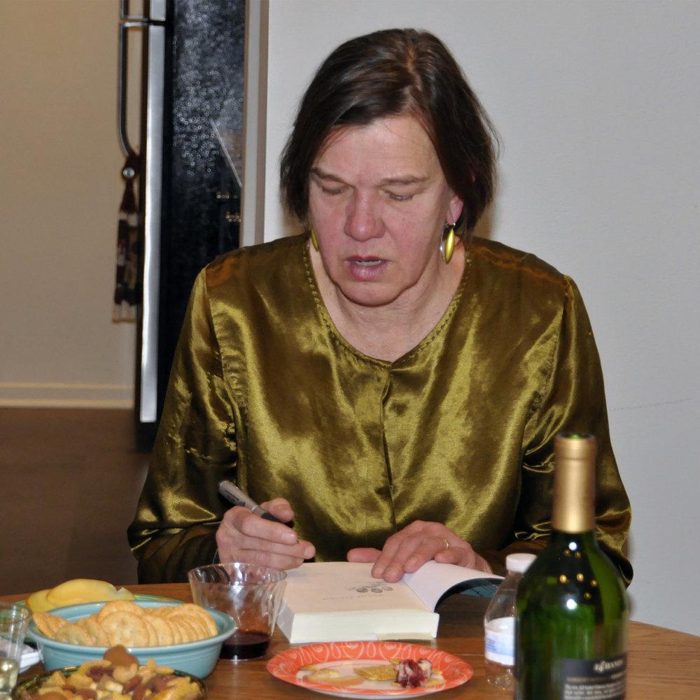 "Beth Finke Book Signing, 2017  24"" x 24"""