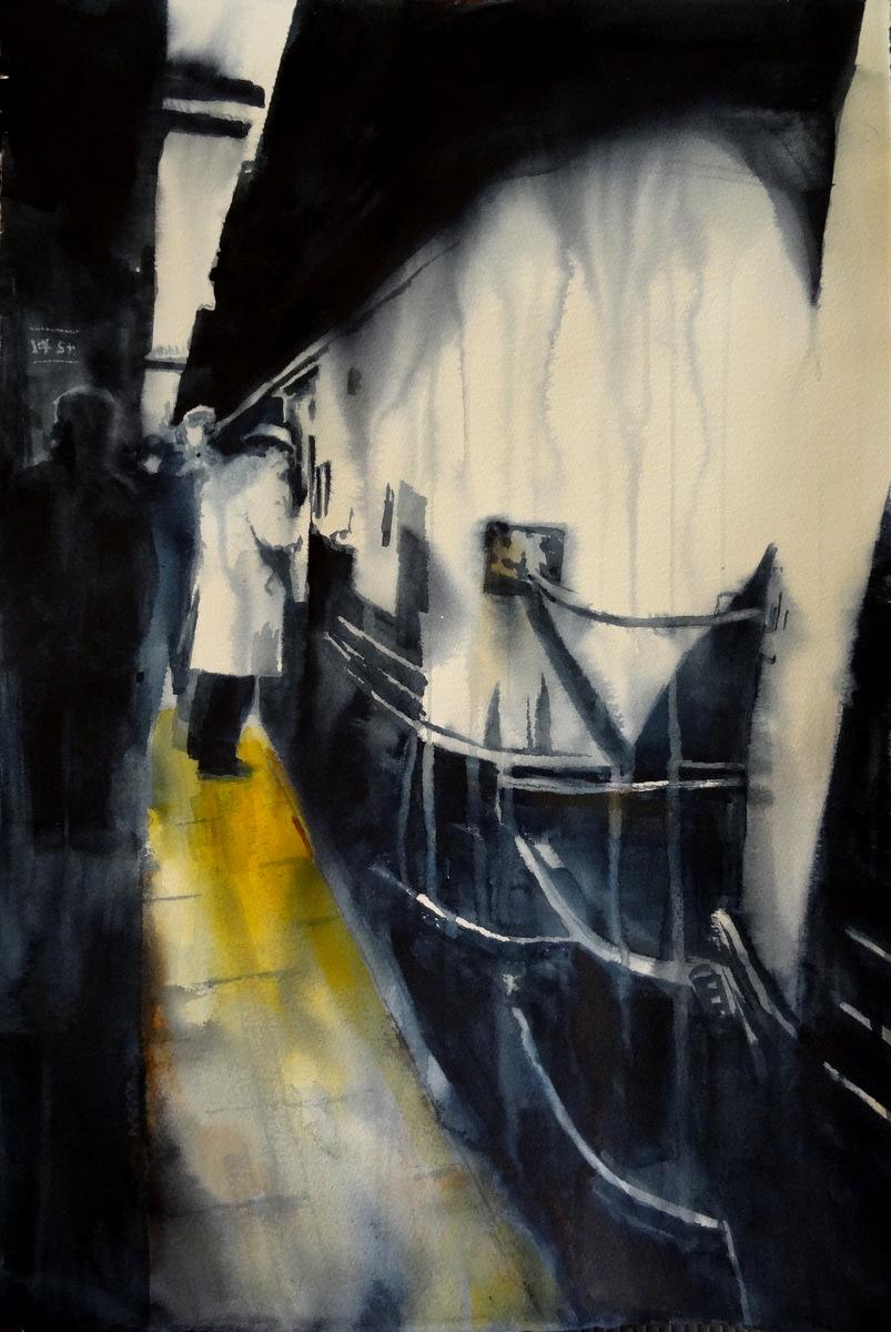 "THE KILLER  .  40x26""  .   2013"