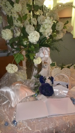 Wedding Guest book Table display — TJ\'s Candy Buffets
