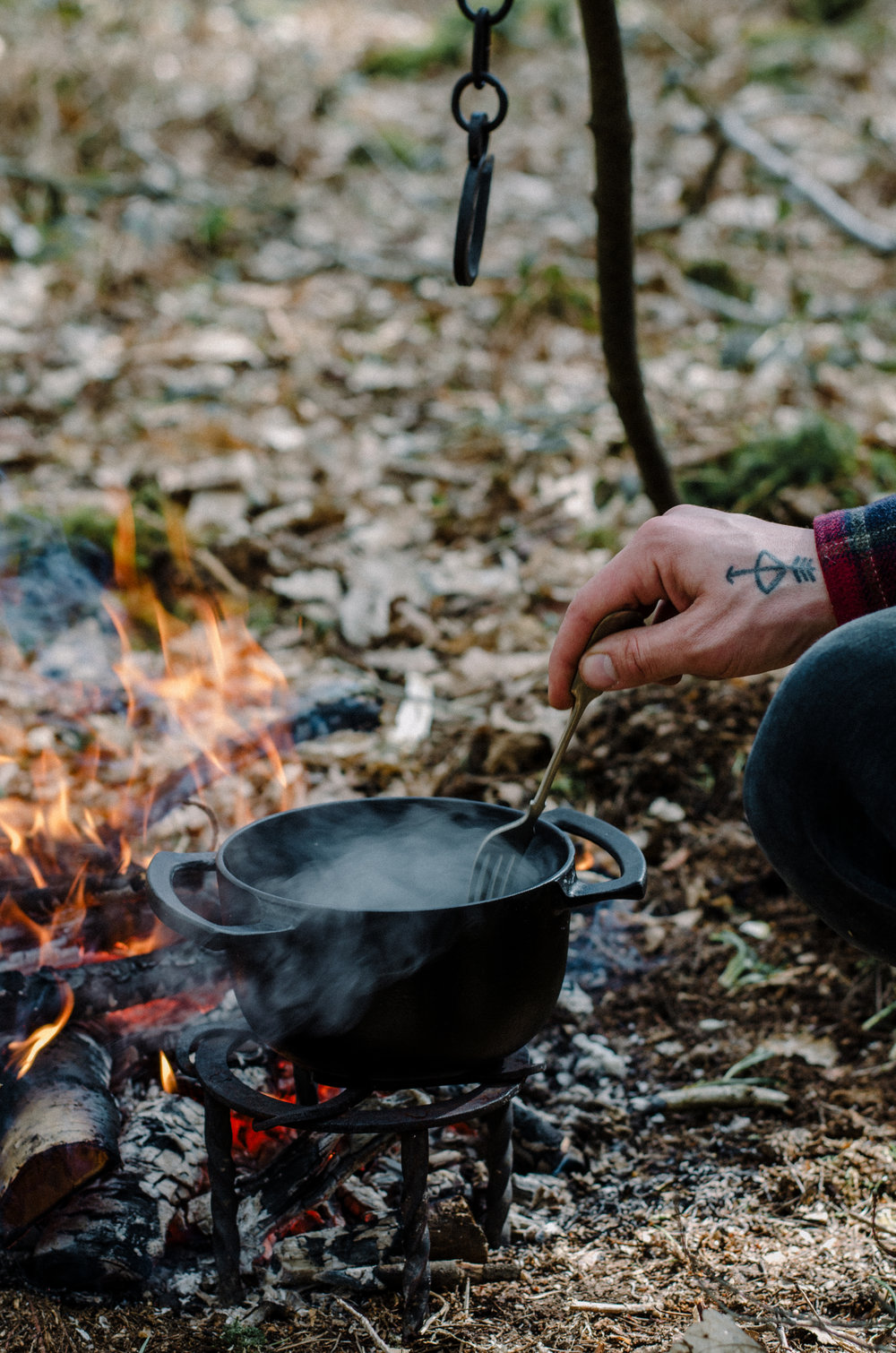 Fire & Wild- Wild Garlic & Campfire Dinner - Aiste Saulyte Photography-181.jpg