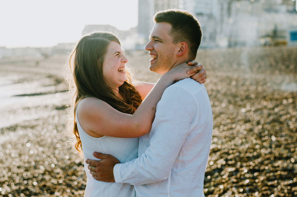 Ieva & Julius - Brighton Beach - Couple Session - Aiste Saulyte Photography.jpg
