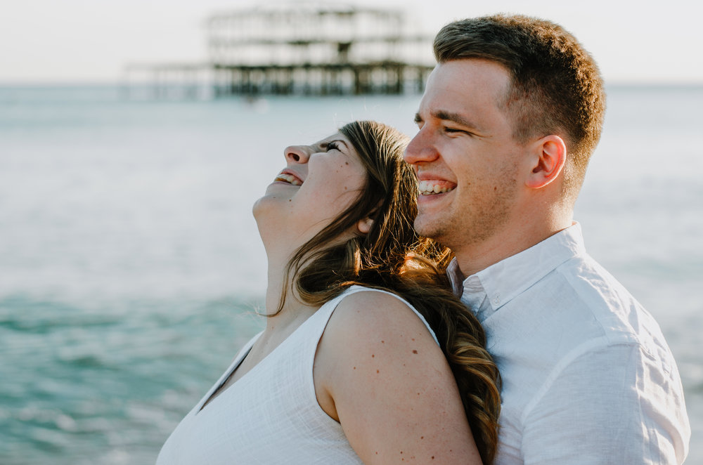 Ieva & Julius - Brighton Beach - Couple Session - Aiste Saulyte Photography-7.jpg