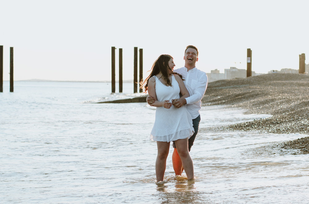Ieva & Julius - Brighton Beach - Couple Session - Aiste Saulyte Photography-13.jpg