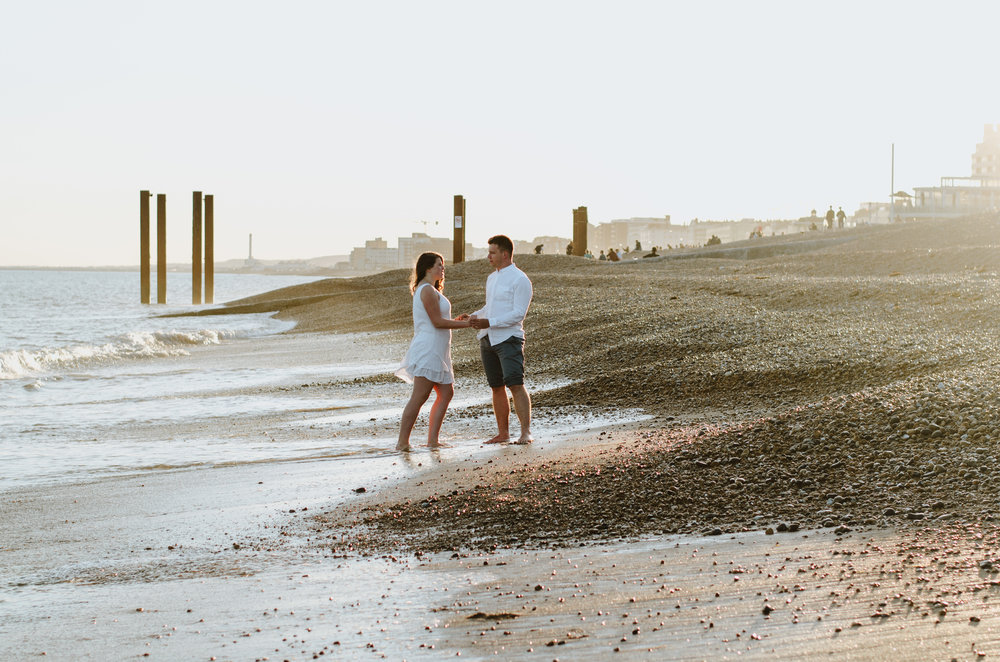 Ieva & Julius - Brighton Beach - Couple Session - Aiste Saulyte Photography-30.jpg