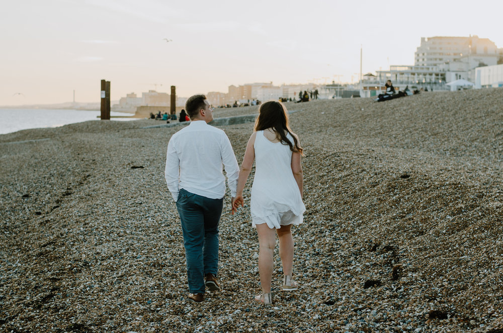 Ieva & Julius - Brighton Beach - Couple Session - Aiste Saulyte Photography-36.jpg