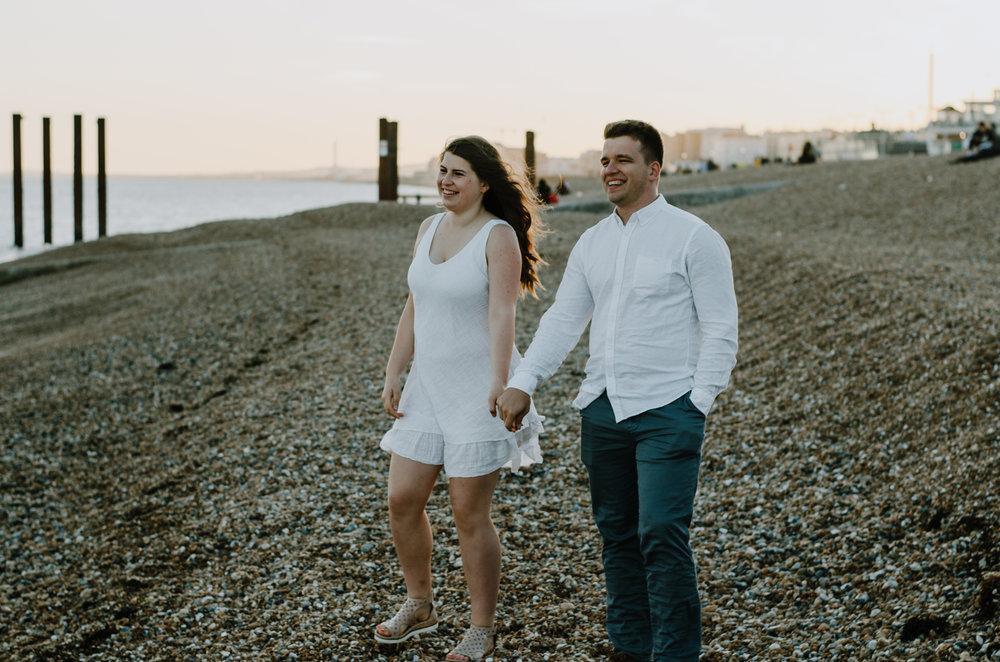 Ieva & Julius - Brighton Beach - Couple Session - Aiste Saulyte Photography-40.jpg