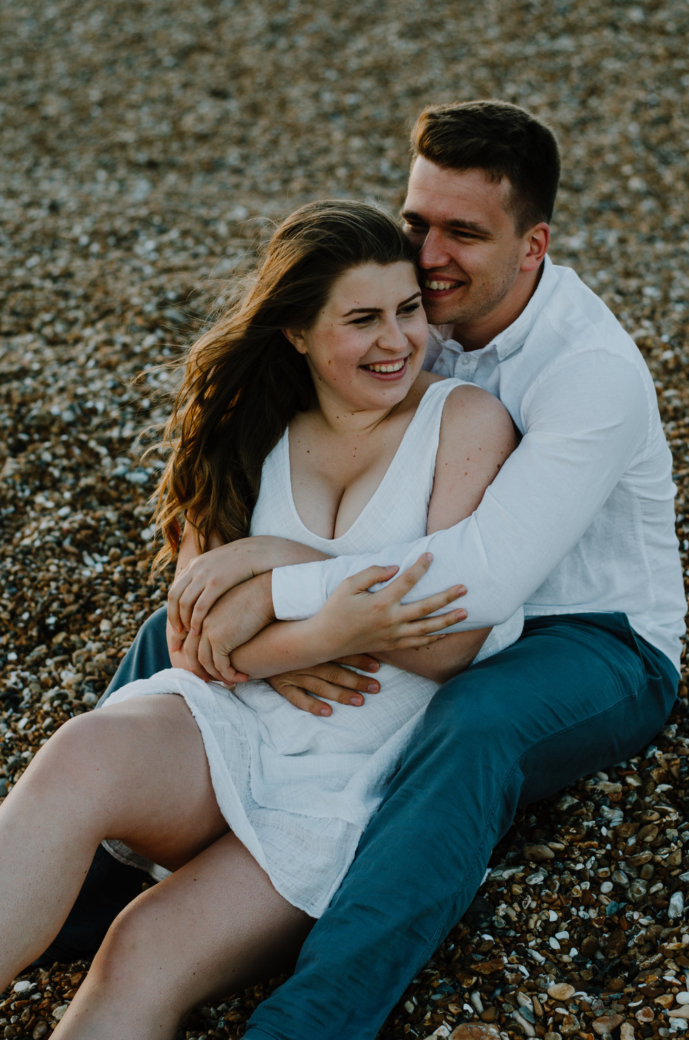 Ieva & Julius - Brighton Beach - Couple Session - Aiste Saulyte Photography-48.jpg