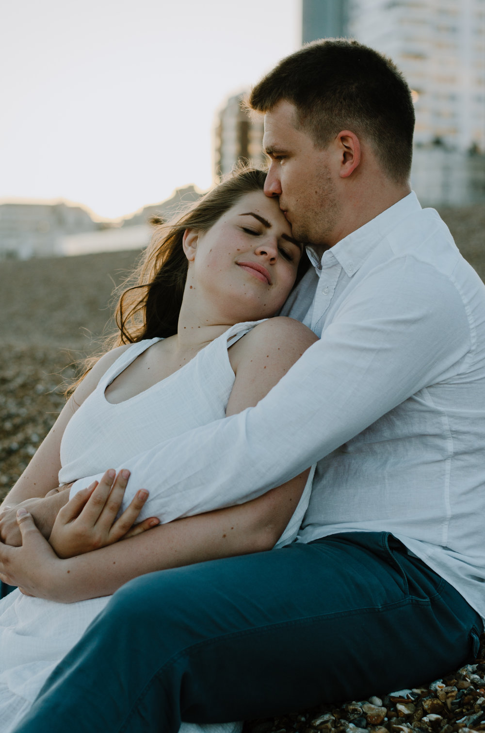 Ieva & Julius - Brighton Beach - Couple Session - Aiste Saulyte Photography-65.jpg