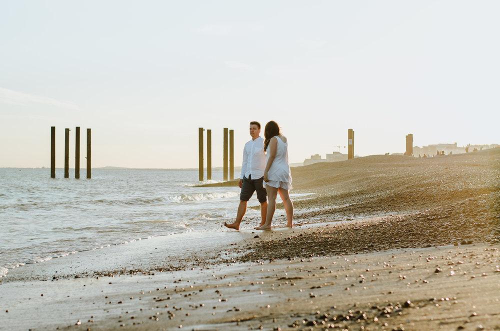 Ieva & Julius - Brighton Beach - Couple Session - Aiste Saulyte Photography-31.jpg