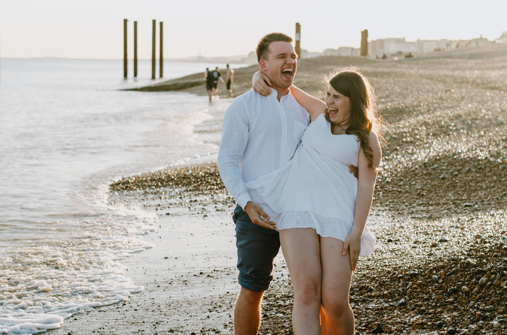 Ieva & Julius - Brighton Beach - Couple Session - Aiste Saulyte Photography-20.jpg