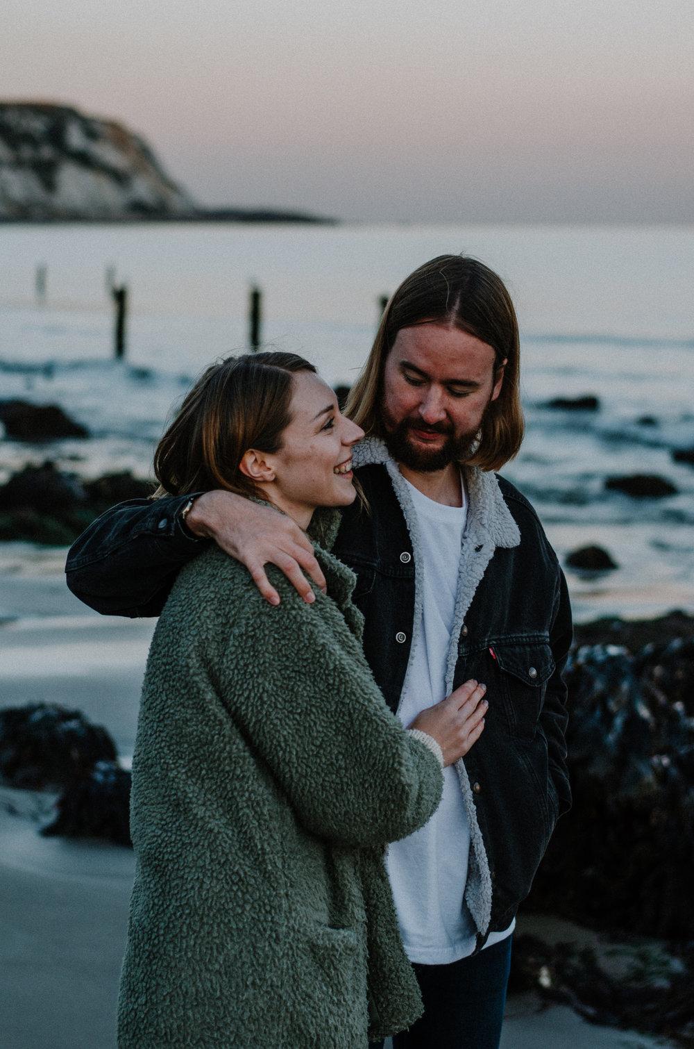 Martha & Simon - Folkestone Warren - Couple Session - Aiste Saulyte Photography-123.jpg