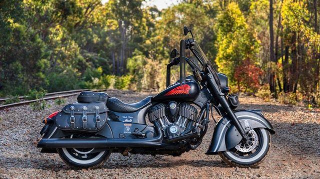 The Dark Horse.  #perthphotographer #indianmotorcycle #letstellyourstory  #indiandarkhorse  #indianmotorcycle