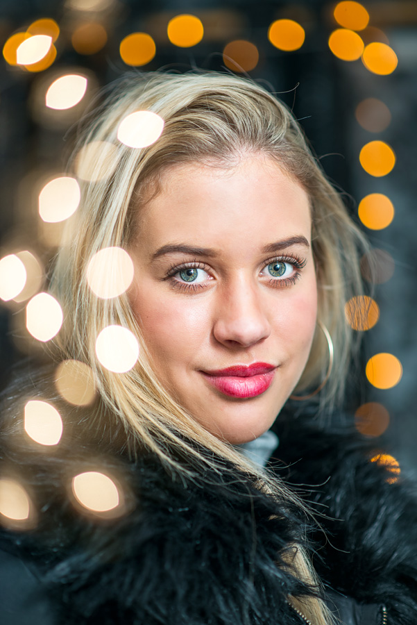Luxury Birthday Portrait-Bokeh