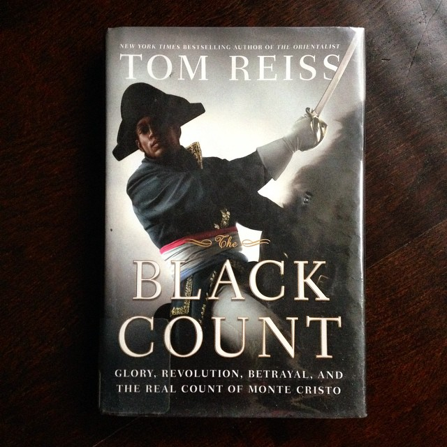 Finalllllyyyy finished the book (and only because it's for book club). I only recommend #theblackcount if you're really into French history.