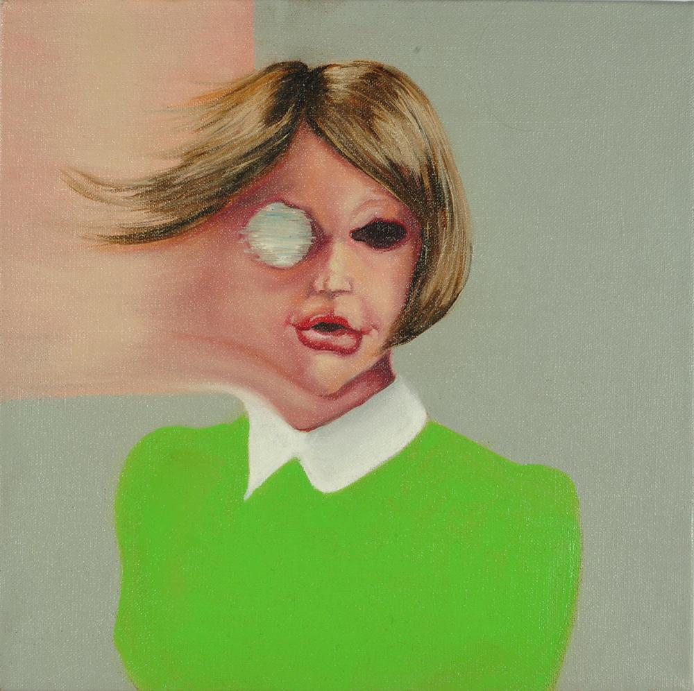 Ludavica, 2010, 40x30 cm, oil on canvas