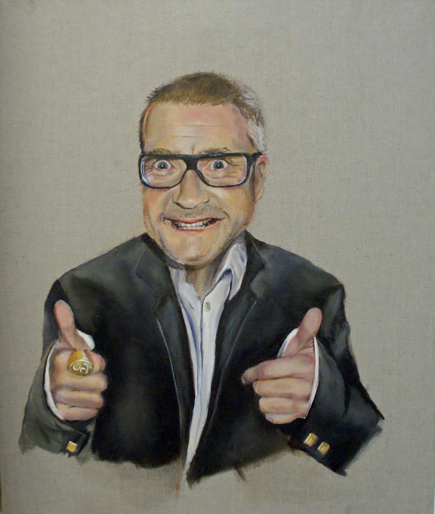 next, 2009, 70x40 cm, oil on canvas