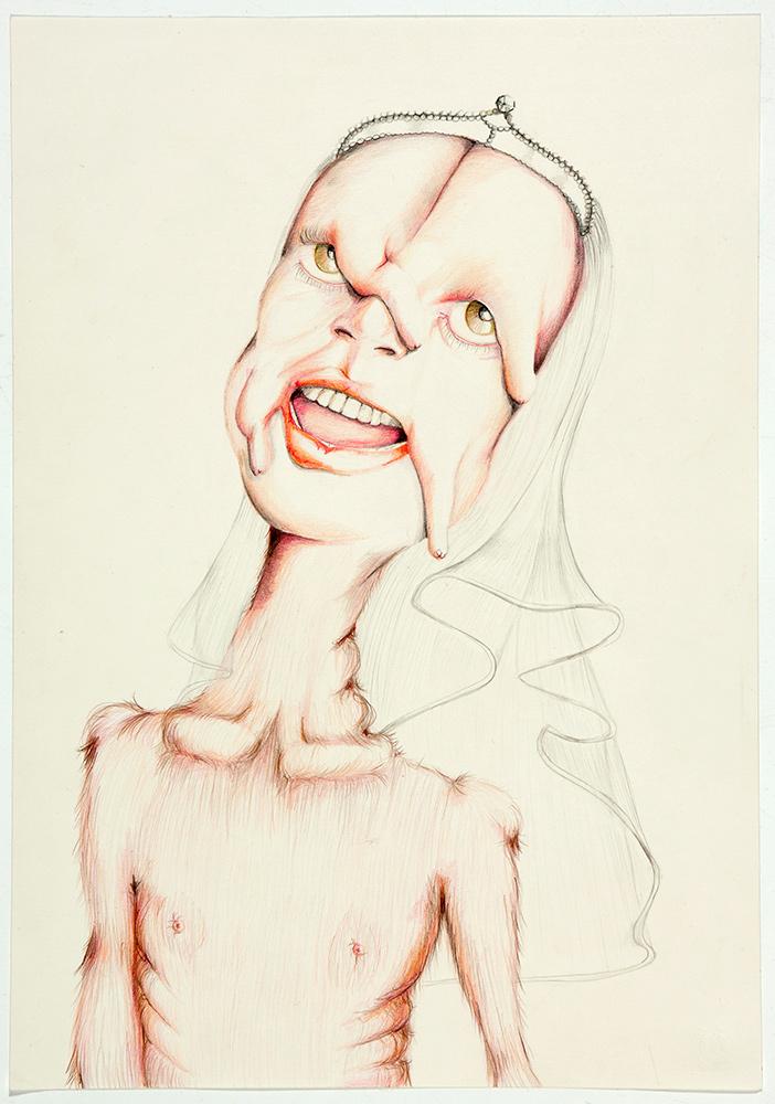 untitled, 2012, 50x35 cm, colour pencil on paper