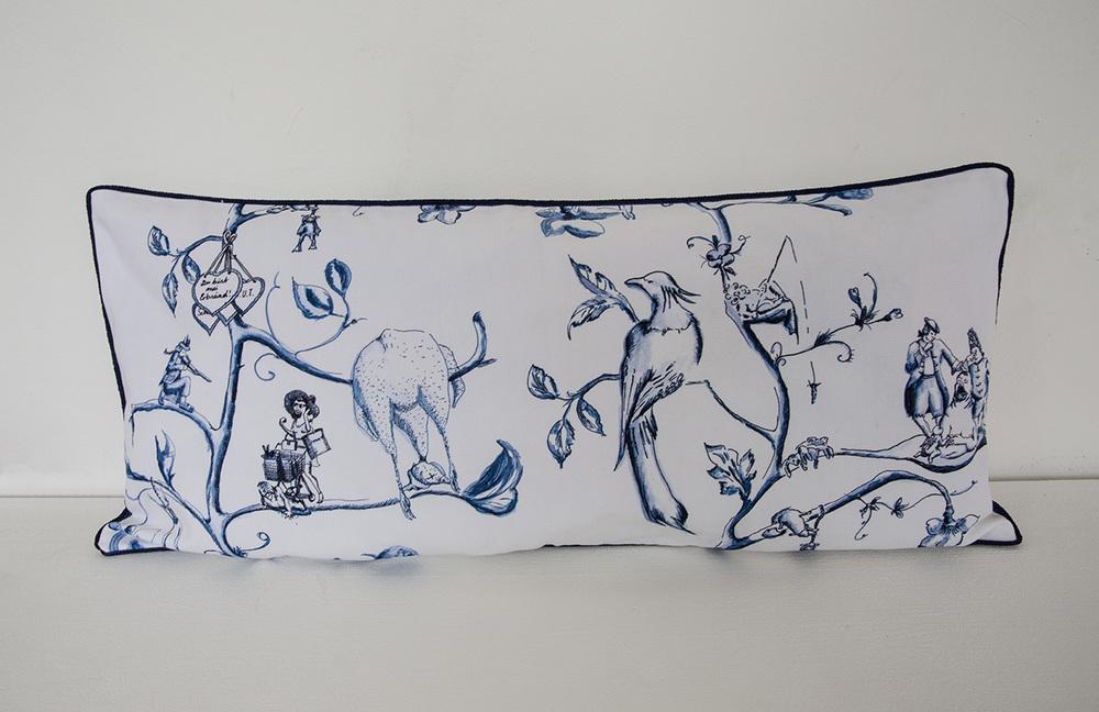 Pillow No. 4| 32 x 70 cm, 2014 | Edition 1/1