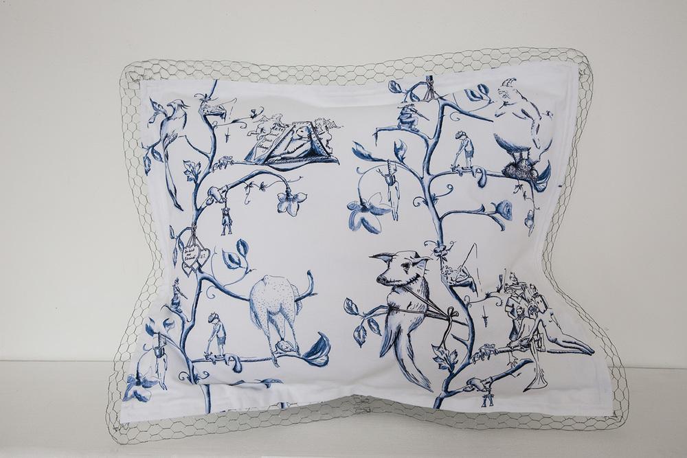 Pillow No. 6 | 63 x 76 cm, 2014 | Edition 1/2