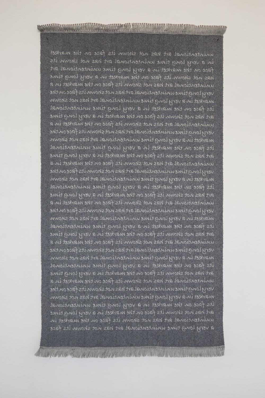 Carpet, 180 x110 cm, 2015