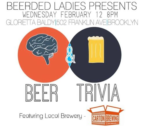 Monthly Beer-Themed Trivia Night | Beerded Ladies