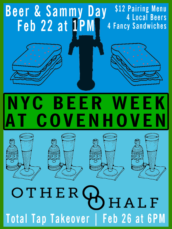NYC Beer Week 2015 | Beerded Ladies for Covenhoven