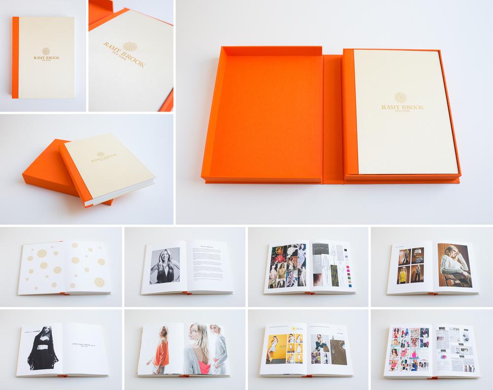 uncommonbindery ramy brook cfda portfolio book