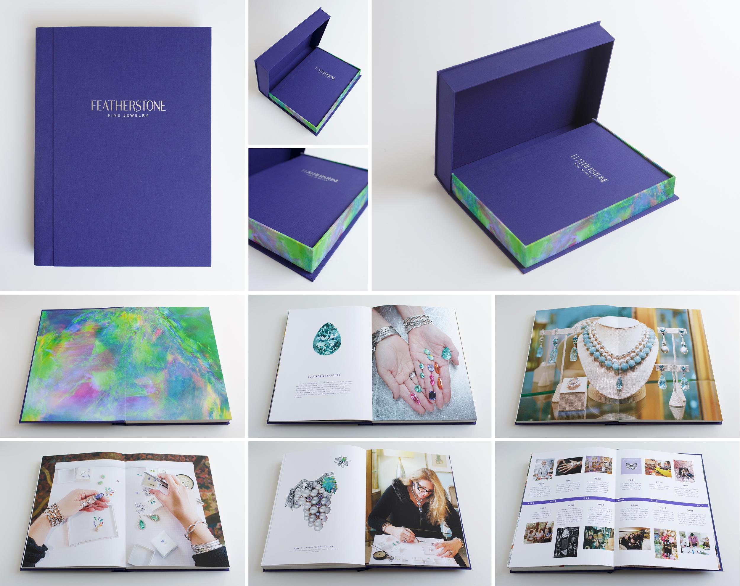 uncommonbindery featherstone design cfda portfolio book