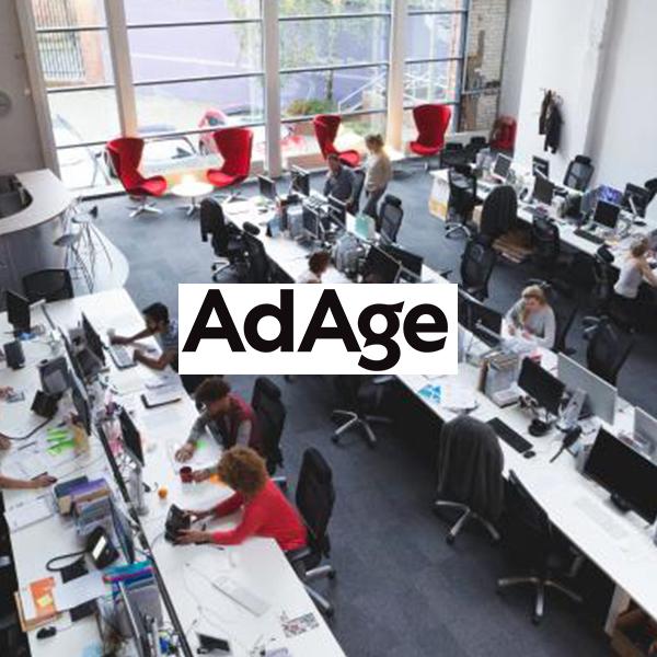 katie keating, erica fite, Fancy, AdAge Agency brief open plan office