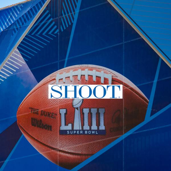 Shoot Online. Super Bowl. Erica Fite.Fancy