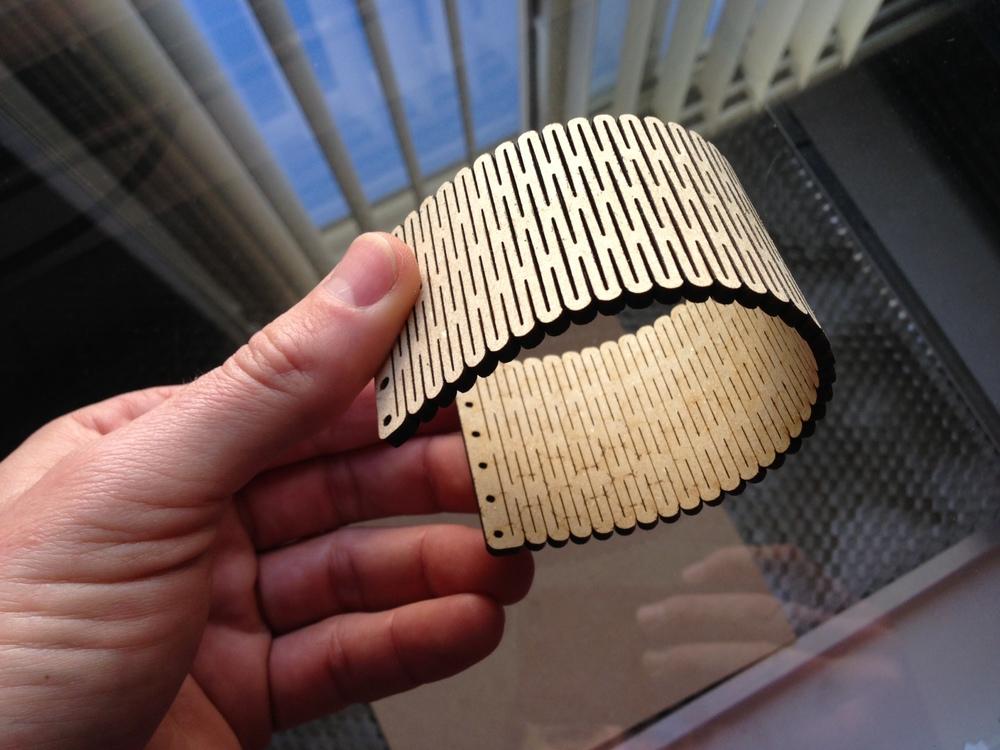 Flexible Wood And Clasps S K I V V I E S Laser Cut
