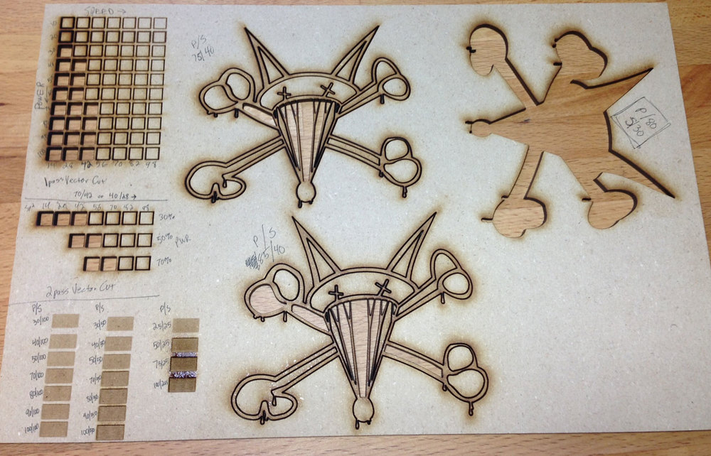 Laser Materials DB — s k i v v i e \' s laser cut goodness