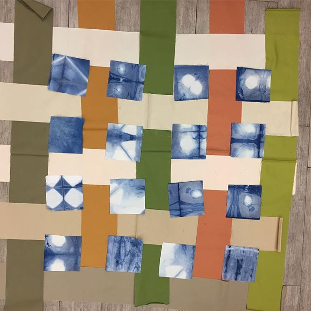 Very into this quilt composition #kidsoftac #quilting #sewing