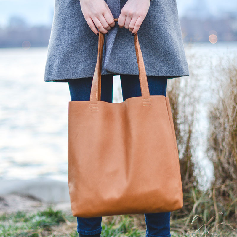 The Greenpoint Leather Tote