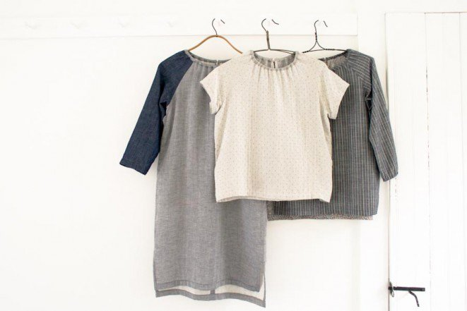 Sewn Raglan Shirt, Tunic, Dress