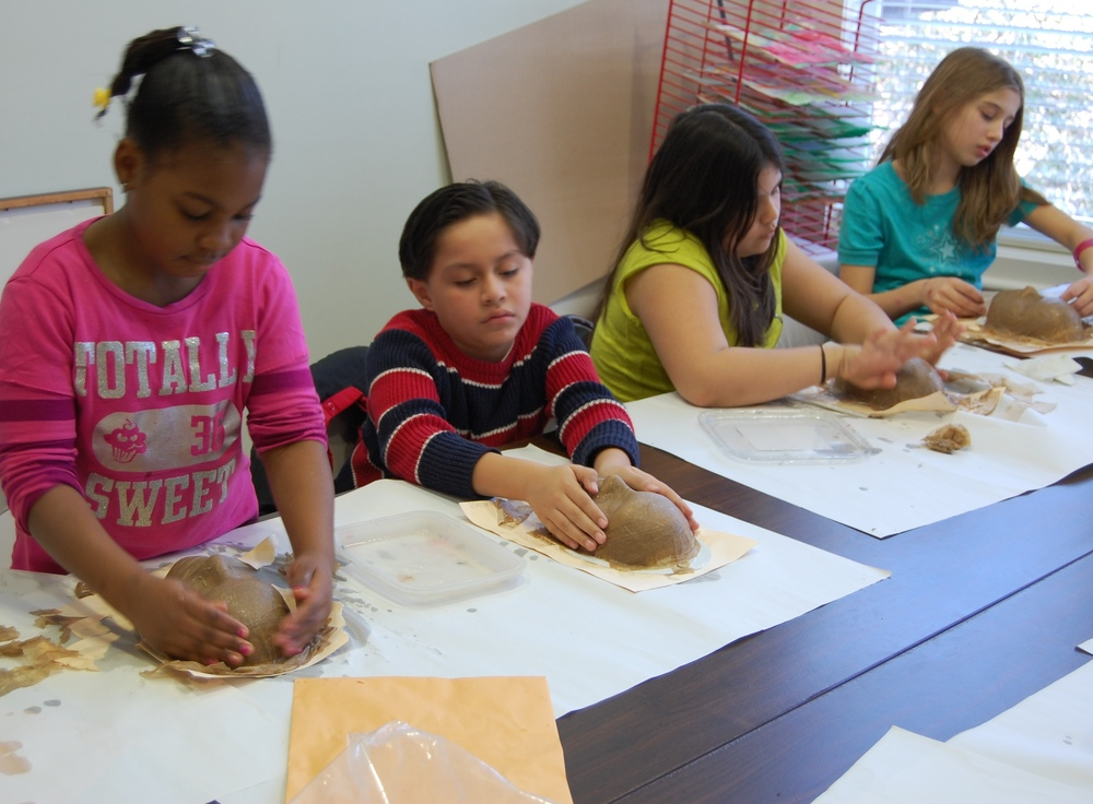 Forming Paper Mache Masks