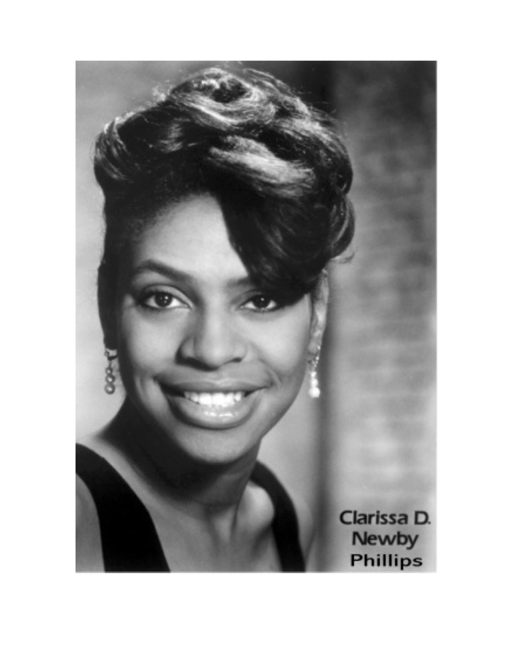 Clarissa Newby Phillips, Dance Department Chair