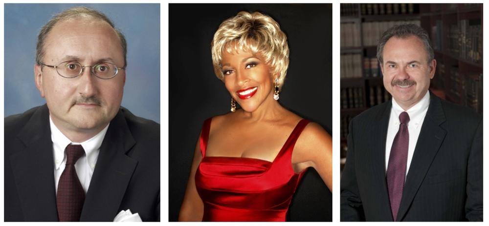 Frank Ferruggia, Esq., Cynthia Holiday, Jazz Singer,Henry Rinder, CPA