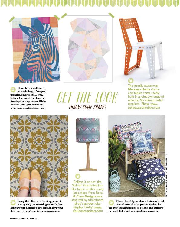Mollie Makes Magazine, 2015