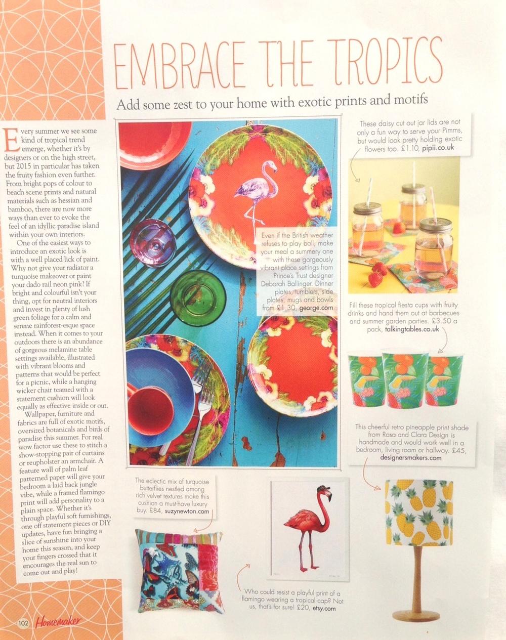 Homemaker Magazine, May 2015