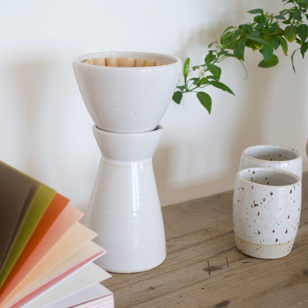 Prototype Dripper Set & Speckled cups DOR & TAN.jpg