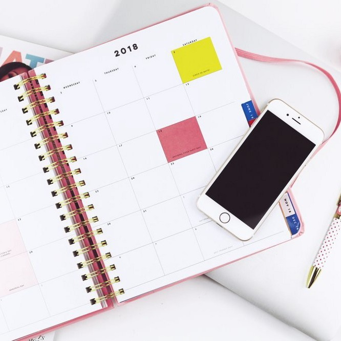 Digital PR & social media calendar (for the entire year- to help you plan product launches and themed PR)