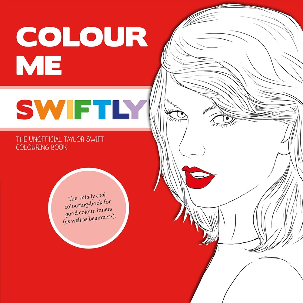£7.50 TAYLOR SWIFT COLOURING BOOK