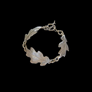 Oak Leaf Bracelet, Michelle Hoting