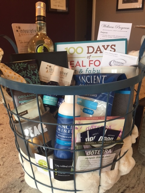 Enter to win one of two holiday gift baskets at each of our facilities!