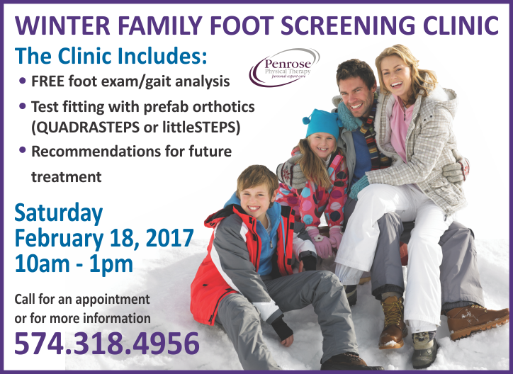 Winter Family Foot Screen Clinic